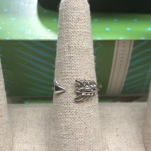 NIB Gilded Arrow Ring